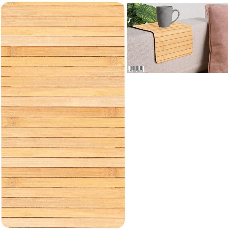 Covoraș de bucătărie, bambus, covoraș de masă, tacâm, tacâmuri, rotund 44x24 cm