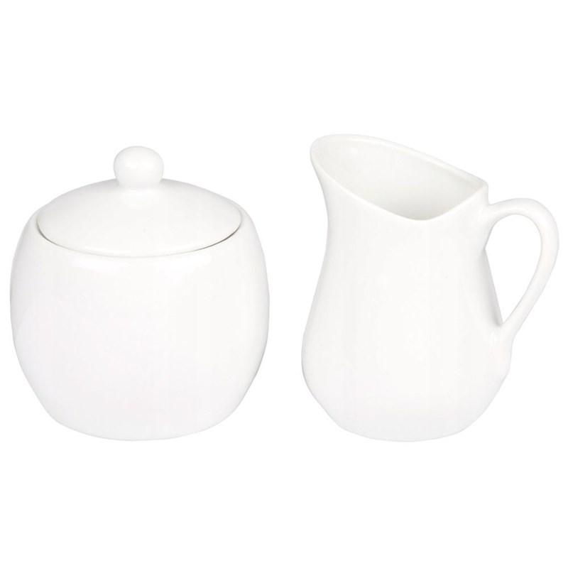 Zaharniță, zaharniță cu capac + cremă, set de zahăr și lapte
