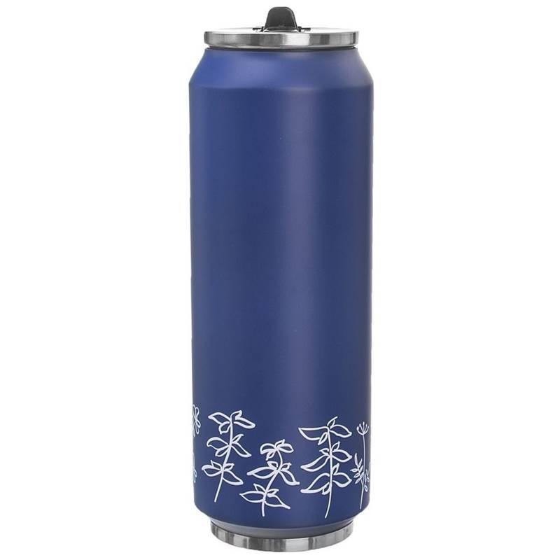 Kubek termiczny, termos, bidon, PUSZKA LOUKA, niebieski 0,7L